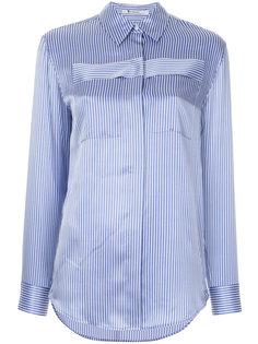 рубашка в полоску с длинными рукавами  T By Alexander Wang