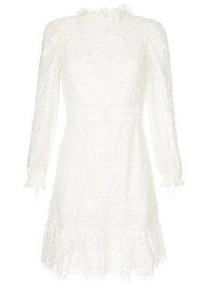 кружевное платье с вырезами  Sea