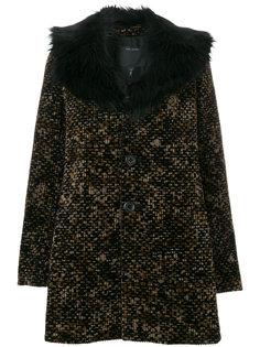 вельветовое пальто с принтом  Marc Jacobs
