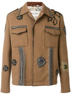 куртка с аппликацией Etro