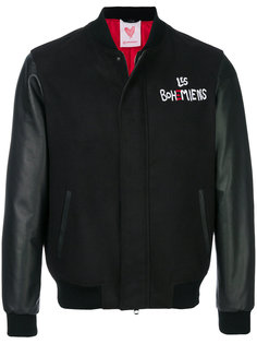 куртка-бомбер с вышивкой Les Bohemiens