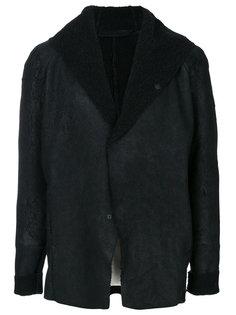куртка с капюшоном и необработанными краями Salvatore Santoro