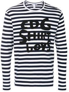 футболка с длинными рукавами с принтом Comme Des Garçons Shirt