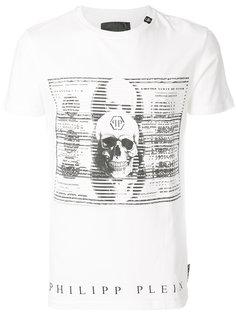 футболка с принтом денежных купюр Philipp Plein