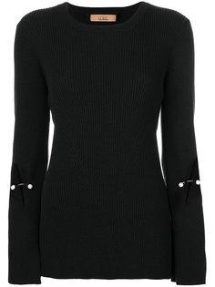 свитер с жемчужным украшением Coliac