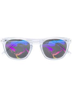 солнцезащитные очки с узором на линзах Saint Laurent Eyewear