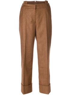 широкие брюки с отворотами на манжетах  Petar Petrov