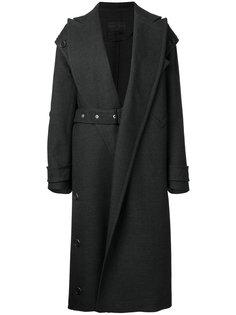 пальто с ремнем на талии Proenza Schouler