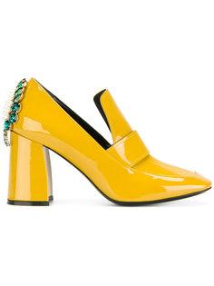 декорированные туфли-лодочки Coliac