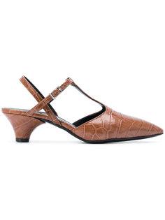 туфли-лодочки с Т-образной планкой Marni