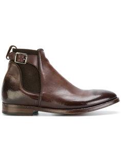 ботинки челси с ремешками Alberto Fasciani