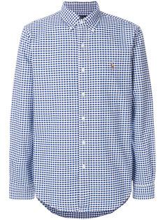 рубашка в клетку гингем Polo Ralph Lauren