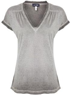 футболка с V-образным вырезом Armani Jeans