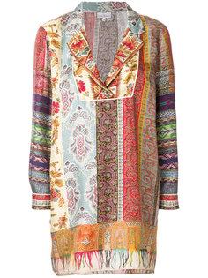 блузка-шифт с вышивкой  Pierre-Louis Mascia