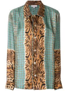 приталенная блузка с вышивкой  Pierre-Louis Mascia