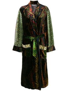 приталенное пальто с вышивкой  Pierre-Louis Mascia