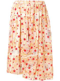 юбка с принтом Comme Des Garçons Comme Des Garçons