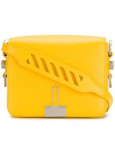 сумка на плечо с откидным клапаном Off-White
