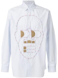 рубашка с клетчатыми панелями Comme Des Garçons Shirt