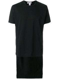 футболка с неравномерным подолом Comme Des Garçons Shirt