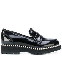 pearl embellished loafers  Suecomma Bonnie