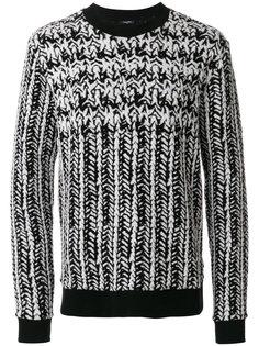 джемпер вязки косичкой Calvin Klein