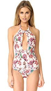 Beach Riot Orchid One Piece