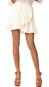 LOVESHACKFANCY Clementine Skirt