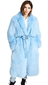 Saks Potts Lake Fur Coat