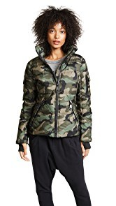 SAM. Camo Freestyle Quilted Jacket