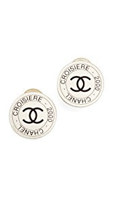 What Goes Around Comes Around Chanel Croisiere Clip On Earrings (Previously Owned)