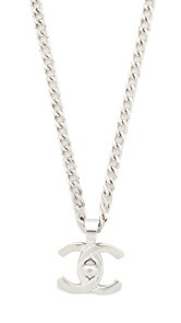 What Goes Around Comes Around Chanel Turn Lock Necklace