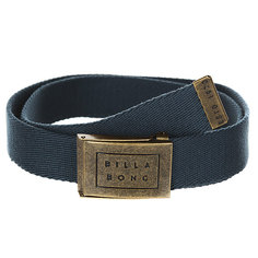 Ремень Billabong Sergeant Belt Dark Slate
