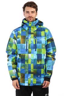 Куртка утепленная Quiksilver Mission Pr Jk M Blue Sulphur Icey Ch