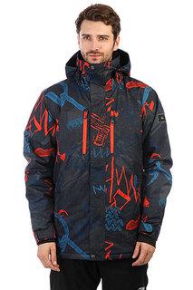 Куртка утепленная Quiksilver Mission Pr Mandarin Red Thunder