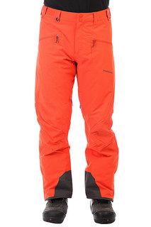 Штаны сноубордические Quiksilver Boundry Mandarin Red