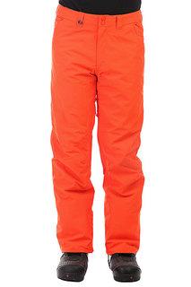 Штаны сноубордические Quiksilver Estate Mandarin Red