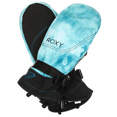 Варежки женские Roxy Jetty Mitt Ink Blue Solargradie