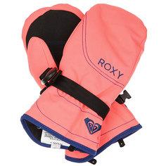 Варежки детские Roxy Rx Jett Neon Grapefruit