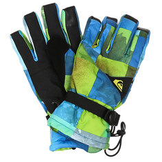Перчатки Quiksilver Mission Glove Blue Sulphur