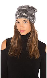 Двустороняя шапка-бини со звездами inked star - Autumn Cashmere