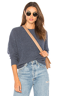 Пуловер с длинным рукавом и круглым вырзезом relaxed shaker - Autumn Cashmere