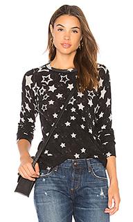 Двусторонний свитшот с длинными рукавами reversible stars - Autumn Cashmere