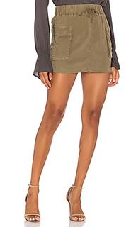Мини-юбка с накладным карманом - Bella Dahl