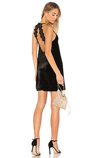 Бархатное платье the soho - CAMI NYC