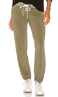 Спортивные брюки на шнуровке super soft - MONROW