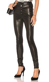 Кожаные брюки natasha - J Brand
