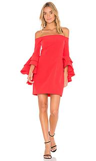 Платье со сборками selena - MILLY