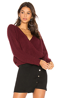 Пуловер с запахом спереди carmen - MINKPINK