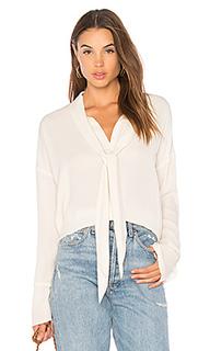 Блуза с завязкой на шее scarf - Theory